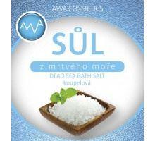 AWA cosmetics Soľ z Mŕtveho mora kúpeľová 500g