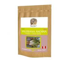 Valeriana Andino prášok z mletej rastliny RAW 60g