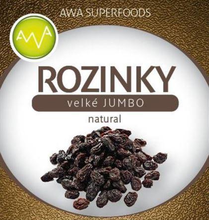 AWA superfoods Hrozienka veľké natural Jumbo 1000g