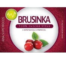AWA superfoods Brusnica - 100% šťava s echinaceou a manosou 250 ml