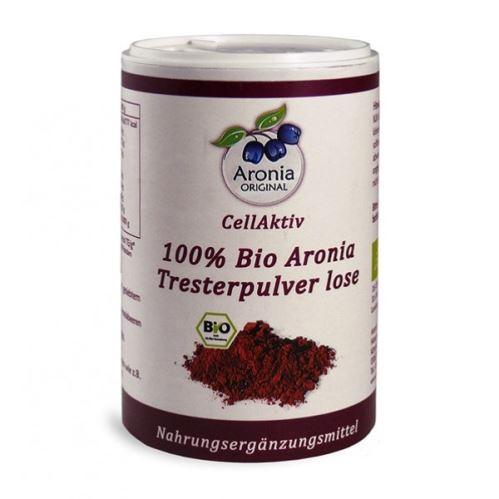 CellActiv Aronia (čierny žeriav, jarabina) 100% Bio - prášok 100 g v dóze