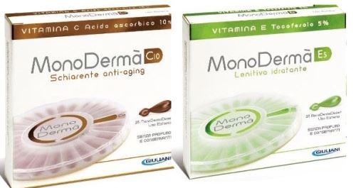 Monoderma vitamín E5 a Monoderma vitamín C10