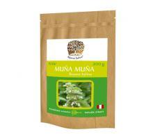 MUNA MUNA rezaná nadzemná časť sušenej rastliny RAW 200g