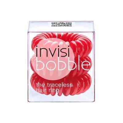 INVISIBOBBLE Rapberry Red 3 pack - Gumička červená (3 ks v balení)