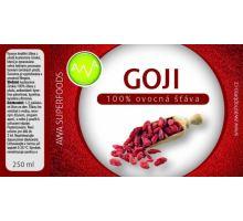 AWA superfoods Goji 100% šťava 250 ml