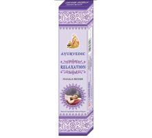 Ayurvedic Indické vonné tyčinky Relaxation16g