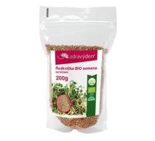 Reďkovka BIO - semená na klíčenie 200g