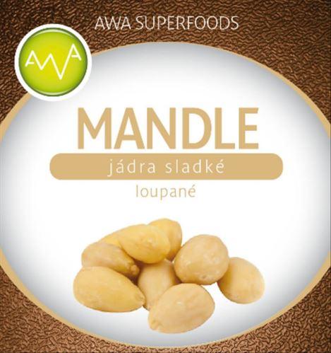AWA superfoods Mandle lúpané 1000g