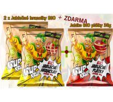 Vitaman 2 x Jablko BIO hranolky 35g sušené + Dárek
