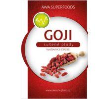 AWA superfoods Goji kustovnica čínska sušené plody 250g