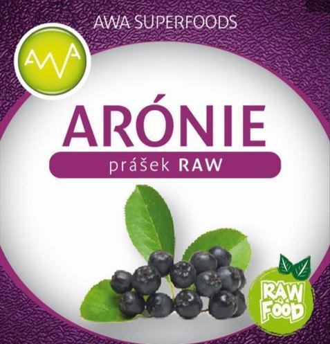 AWA superfoods Aronia prášok RAW 100g
