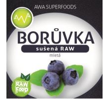 AWA superfoods sušená čučoriedka mletá RAW 100g