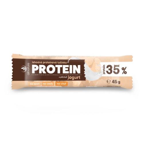 Proteínová tyčinka 35% jogurt 45 g