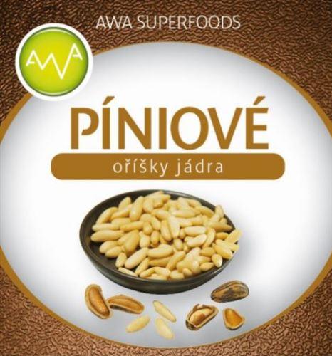 AWA superfoods Píniové oriešky jadra 1000g