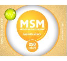 AWA superfoods MSM tablety 250 ks