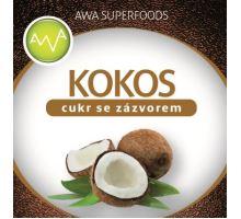 AWA superfoods kokosový cukor so zázvorom 250g