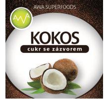 AWA superfoods kokosový cukor so zázvorom 100g