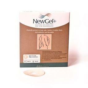 Kruhová béžová náplast- areola (2ks v balení), NewGel + NG-120