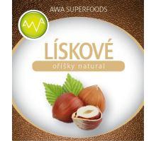 AWA superfoods Lieskové oriešky natural 1000g