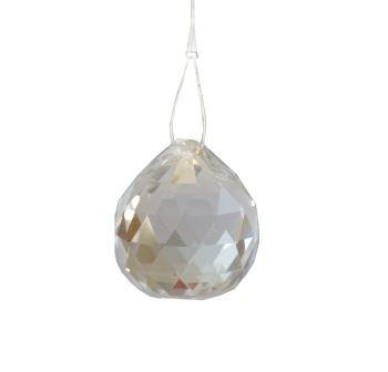 Krištáľové sklenené gule Feng shui 60mm