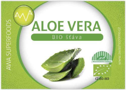 AWA superfoods Aloe vera - 100% Bio šťava 500 ml