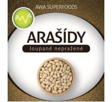 AWA superfoods arašidy lúpané nepražené 1000g