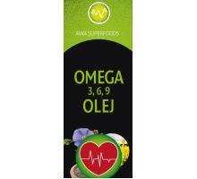 AWA superfoods olej omega 3, 6, 9 500 ml
