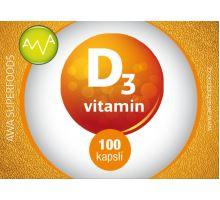 AWA superfoods vitamín D3 100 tablet
