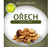 AWA superfoods Jadrá orechov MIX 1000g