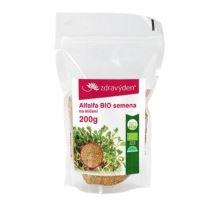 Alfalfa BIO - semená na naklíčenie 200g