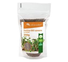 Horčica BIO - semená na naklíčenie 200g