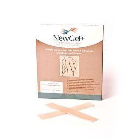Béžová náplasť v tvare prúžka 2,5 x 15,2 cm (4ks v balení), NG- 101S NewGel +