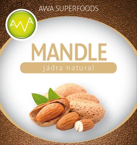 AWA superfoods mandle natural Valencie 1000g