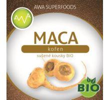 AWA superfoods maca koreň sušené kúsky BIO 100g