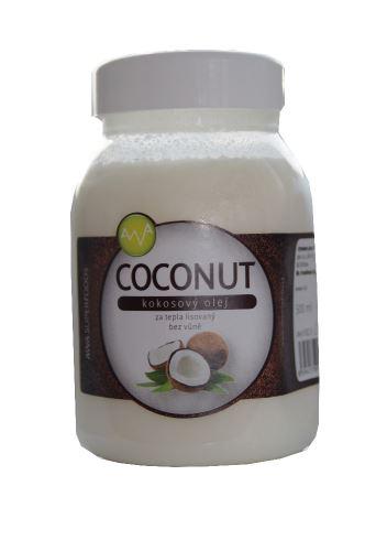 AWA superfoods Kokosový olej COCONUT 500ml