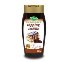 Čakankový topping s príchuťou čokolády 330g