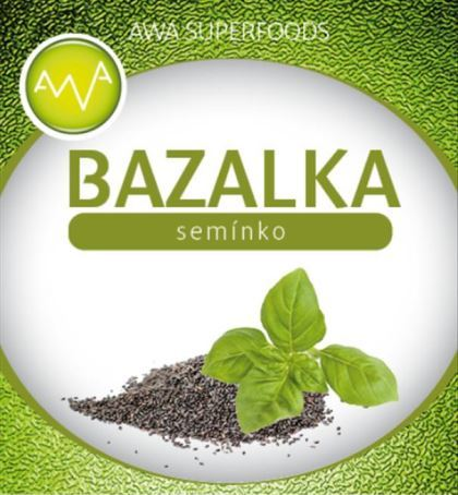 AWA superfoods bazalkové semienko 500g